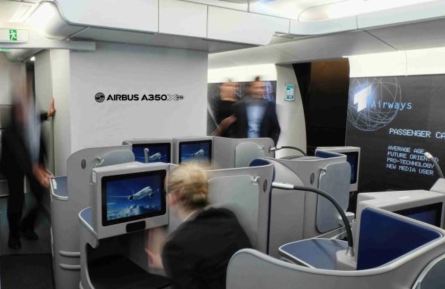 A350XWB Customer Definition Centre Inspire Mockup/Airbus