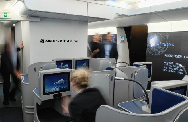 A350XWB Customer Definition Centre Inspire Mockup/Airbus