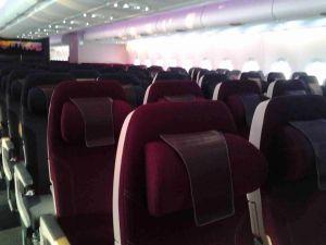 Qatar A350XWB tour flight Toulouse, Dec 2014/FCMedia
