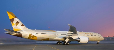 Etihad Airways Boeing 787-9/Boeing