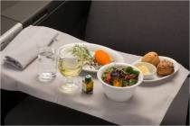 New SAS Business class meal service/SAS