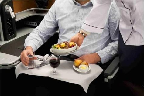 New SAS Business class meal service/SAS
