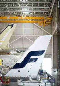 Finnair A350 Tail