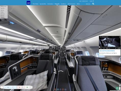 SAS Aircraft Google Street View