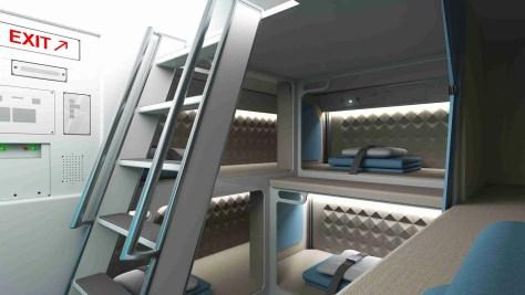 Zodiac Crew Rest Area/Zodiac Aerospace