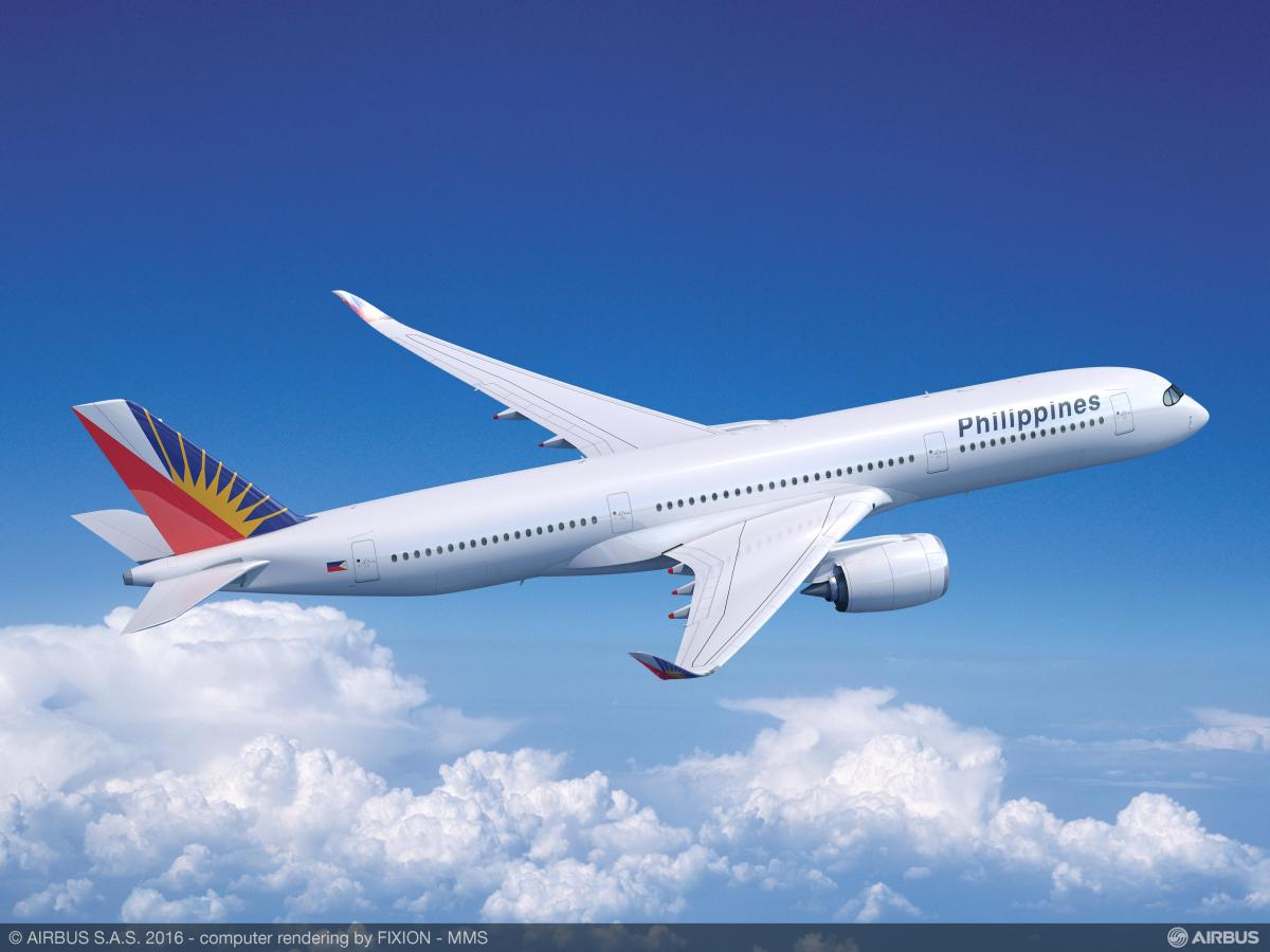 Philippine Airlines Signs MOU for 6 A350s as the Aircraft Struts its Wings at Singapore Airshow