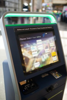 TBIT Automated Check-In Kiosks, Source: SAS