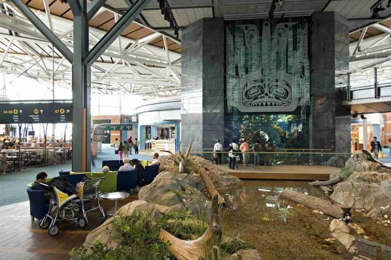 Vancouver Airport Aquarium and Creek-2