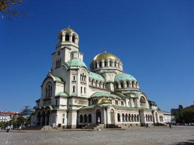 St. Alexander Nevsky Cathedral, one of the largest Eastern Orthodox cathedrals in the world, Mogadir - Own work, Commons