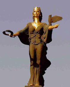 The Statue of Sveta Sofia, Railroadwiki - Own work, Commons