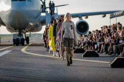 """MATCH MADE IN HEL Group Fashion show """"THE RUNWAY"""" in Helsinki Airport."""
