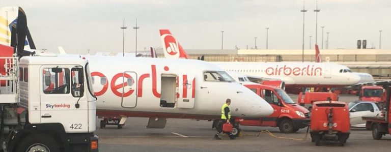 Airberlin at Hamburg Airport, by Flight Chic