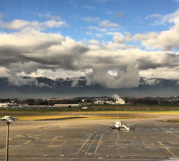 View of Geneva Airport from IATA Headquarters, © FCMedia 2015