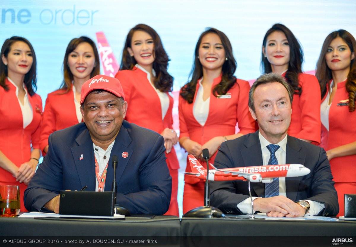 AirAsia Hands Aviation Some Awesome, and Not Just With Order of 100 A321neos