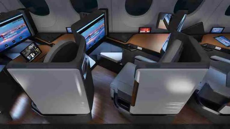Waterfront Seat: B/E Aerospace, Panasonic Avionics Corporation, TEAGUE and Formation Design Group