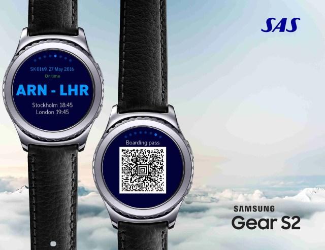 SAS Samsug Gear S2 App