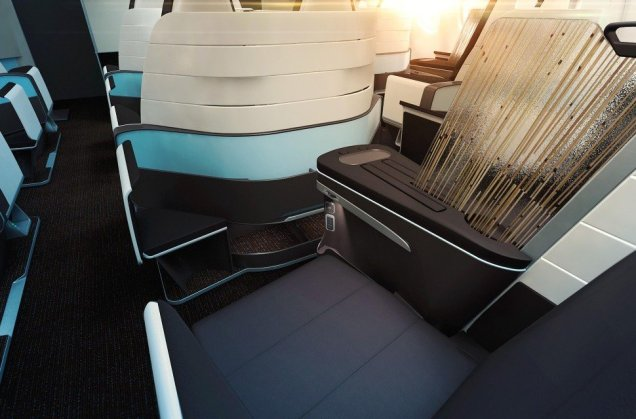 Hawaiian Airlines new Premium cabin. Source: Hawaiian Airlines