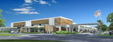 New Terminal Rendering, Seletar Airport, Singapore