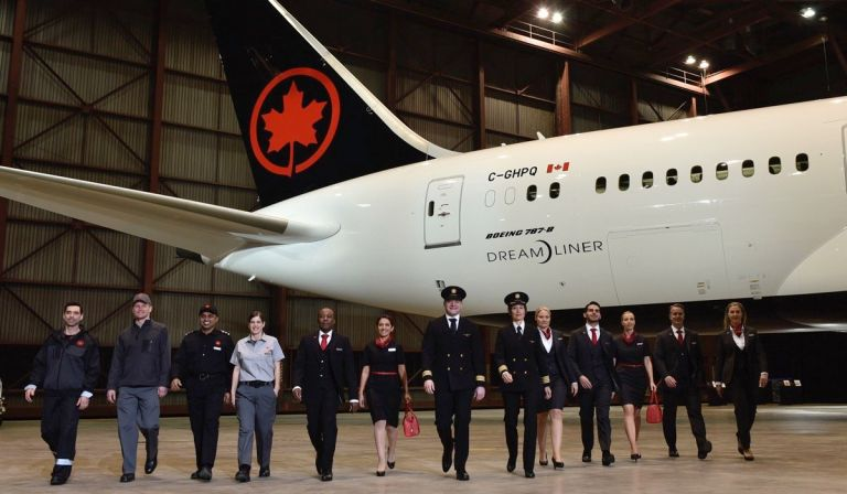 be6d470fab8 Air Canada Reveals New Uniforms Fully Tested by Staff Over One Year Period