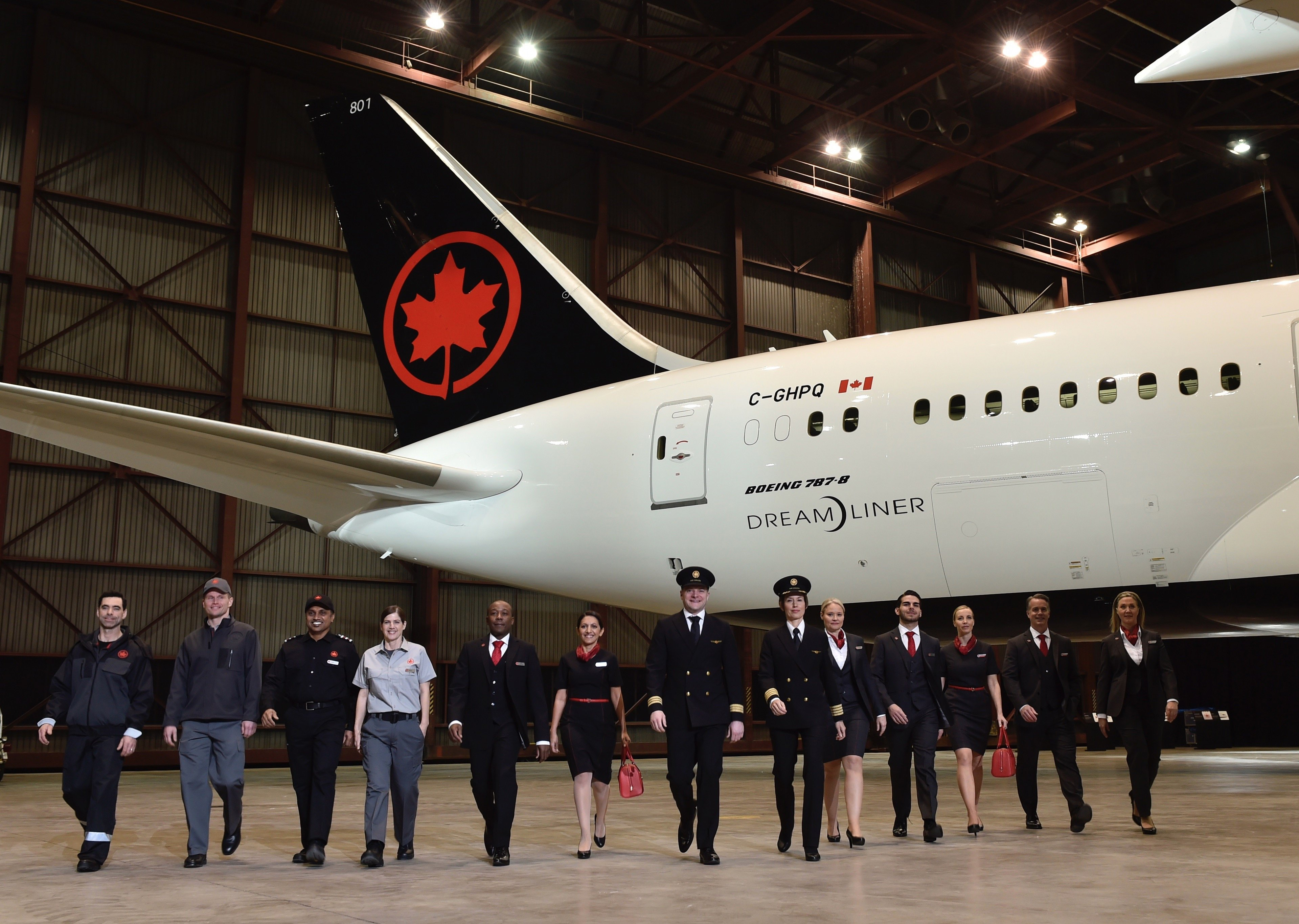 Flight Chic | Air Canada Reveals New Uniforms Fully Tested