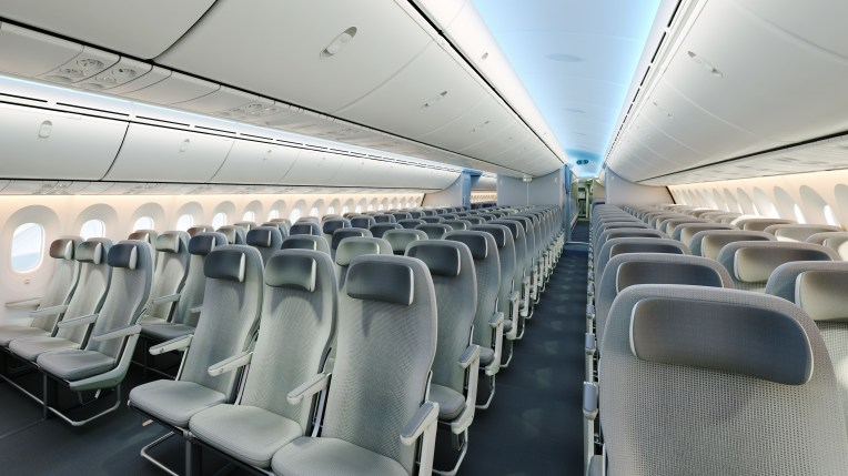 Boeing 787 Seating Cabin Shot by LIFT