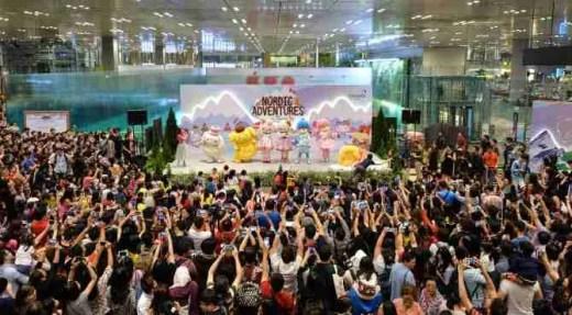 Changi Sanrio Nordic Wonderland Festivities