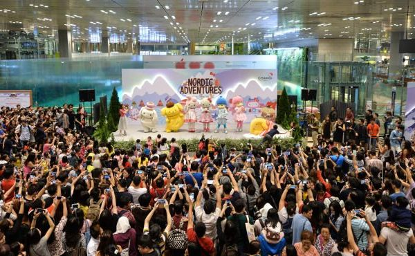 Changi Sanrio Nordic Wonderland Festivities