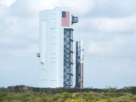 Atlas V - TDRS-K rollout