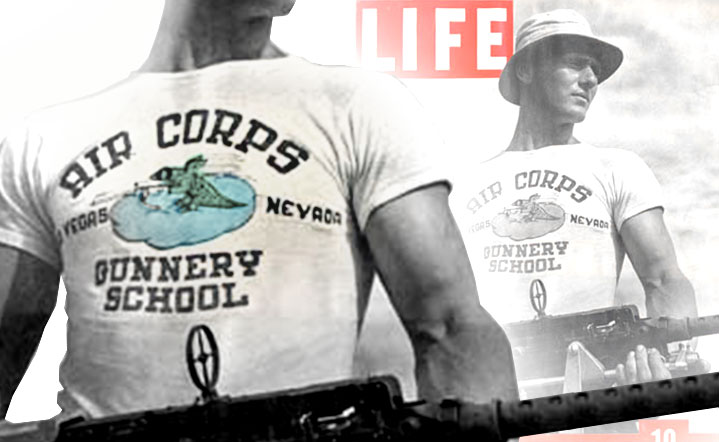 5dab2ea8 Created for the military, the T-shirt celebrates 100 years
