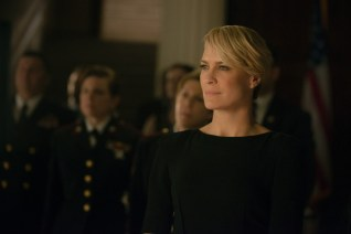 The Underwoods take on sexual assault in the military in Season 2 of 'House of Cards.' (Netflix/Released)