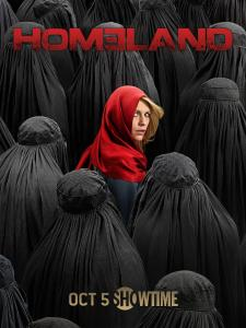 "The poster for season 4 of ""Homeland."" (Showtime)"