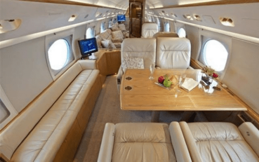 Gulfstream IV private jet charter