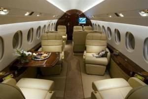 Jet Linx Falcon 2000LX Available for Charter, Dallas TX