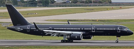 Boeing 757-200 VIP Charter by Tag Aviation UK