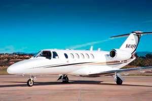 Citation CJ2 based Camarillo CA with Silver Air