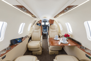 Learjet 75 Interior