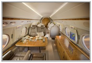 Gulfstream V N516GH Charter Cabin, Solairus Aviation