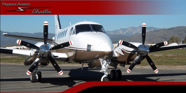 King Air B100 Charter