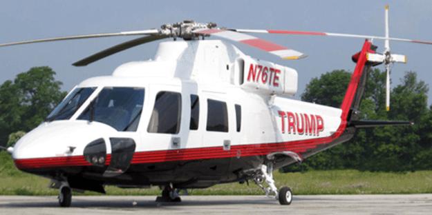 Trump Sikorsky S76