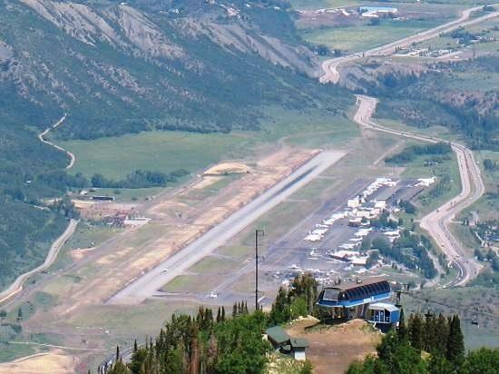 Aspen Airport overhead