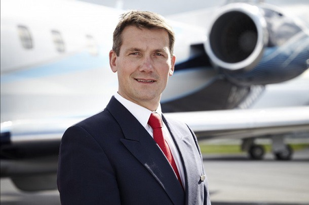 Adam Twidell, CEO of the UK-based PrivateFly