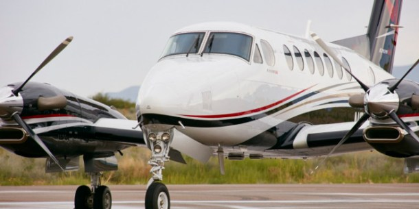 King Air 350i charter with Francis Aviation, El Paso Texas