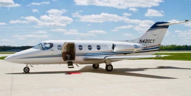 Floating Fleet charter operator TMC Jets with 26 light jets is acquired by Wheels Up.