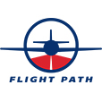 Flight Path Logo iPhone Icon Retina