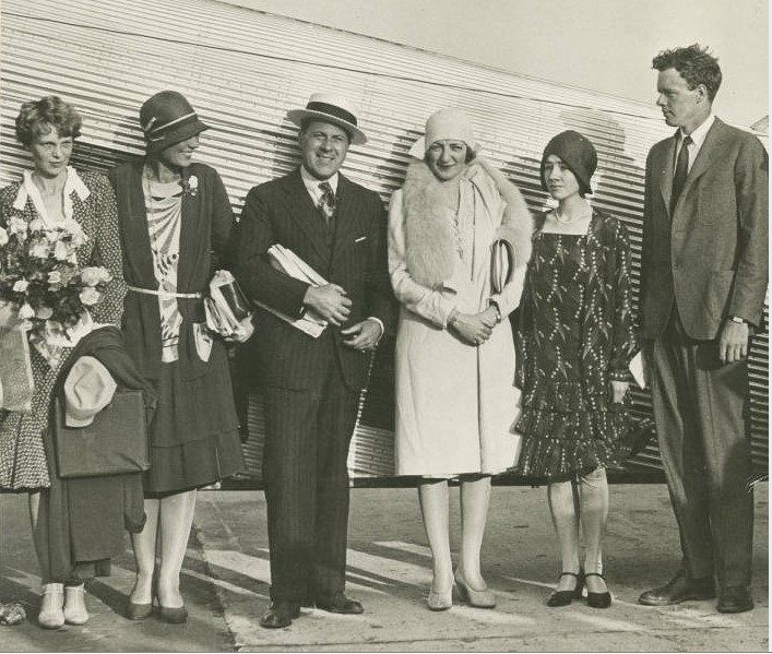 Earhart and Celebrities