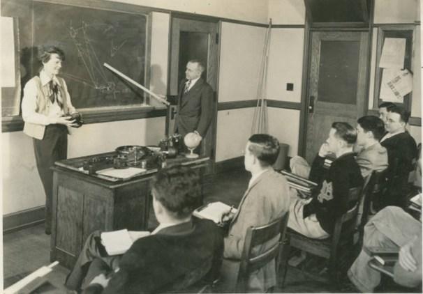 Earhart in Classroom