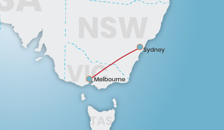Book rex flights Sydney to Melbourne