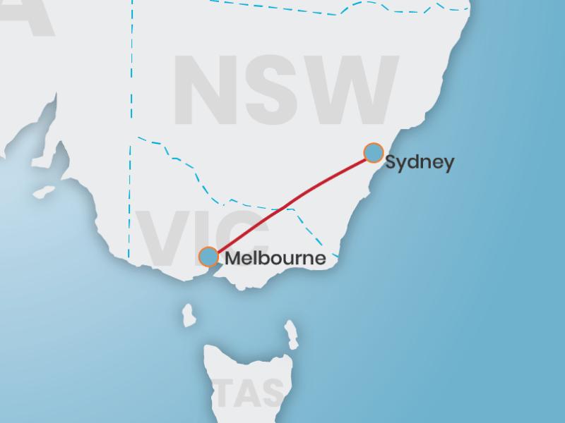 Book rex flights Sydney to Melbourne