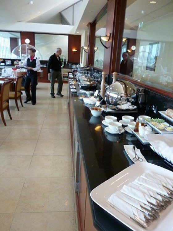 Emirates Lounge Manchester Airport buffet