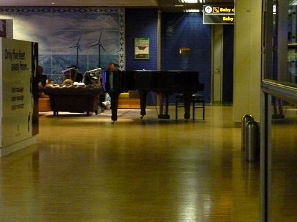 Schipol Airport even has its own Grand Piano